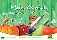 Małe ogródki - książka kucharska dla przedszkolaków